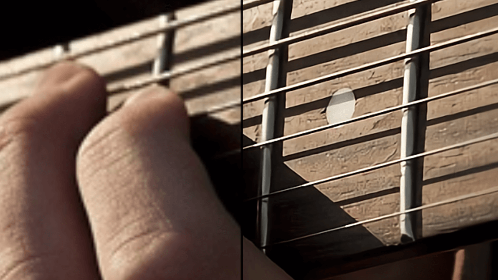 waifu2xの画像高画質化テスト(ギター)拡大